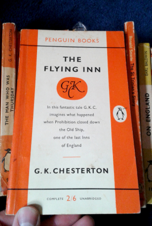 The Flying Inn by G. K. Chesterton; Penguin Paperback 1338; 1958 edition